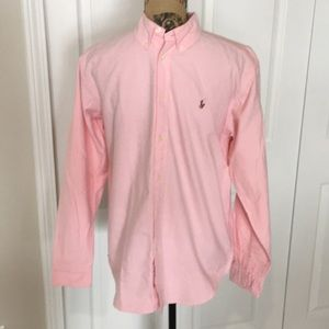 Boys Polo Button Down Shirt